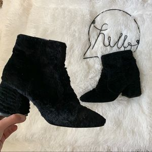 Nine West • Velvet Booties